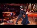 Nick Carter & Sharna Burgess dance the Quickstep