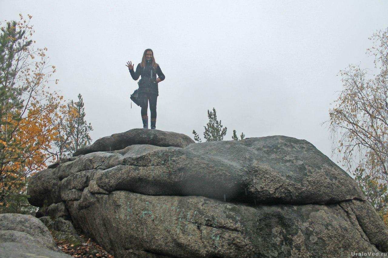 Скалы на горе Высокой