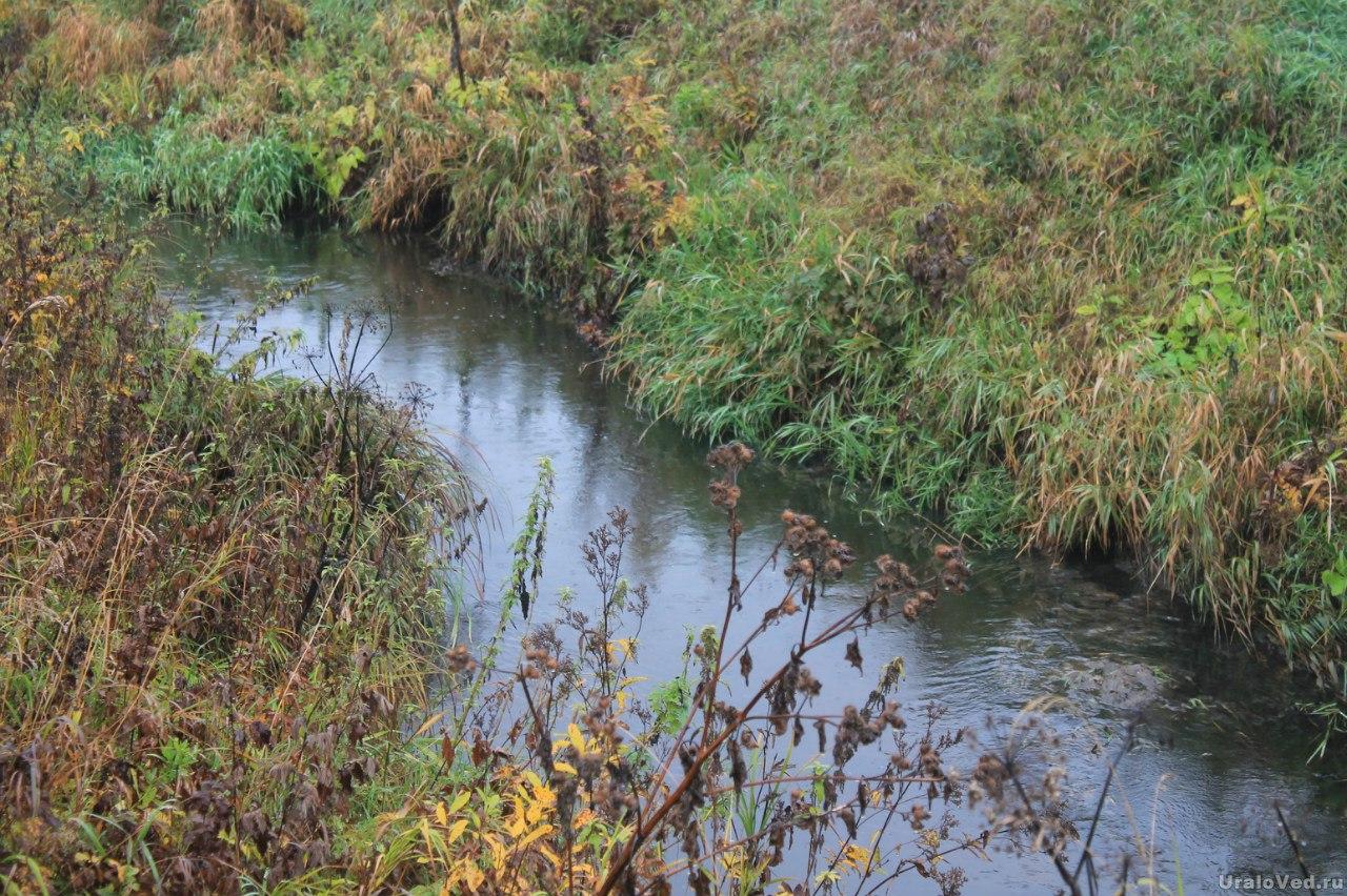Речка Арамилка