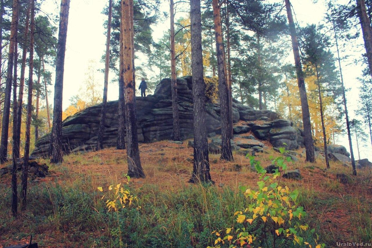 Шабровские каменные палатки
