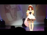 Японо-российское косплей шоу.Поющие японки.Песня вторая.Часть первая