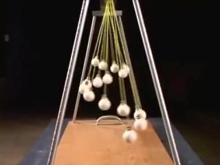 Игра маятников. Удивительное зрелище!