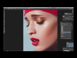 Beauty retouching with Erika Dufour