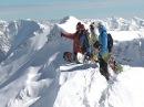Сноуборд Гагры. Спорт экстрим в горах. Активный отдых видео. Абхазия зимой и весной