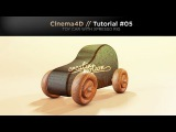 Cinema4D // Tutorial #05 TOY CAR WITH XPRESSO RIG