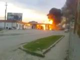 СРОЧНО. Взрыв на Заправке в Кизляре