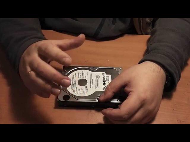 Опыты по восстановлению жестких дисков WD серии AAKS Обзор