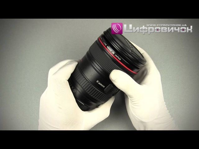 Видеообзор Canon EF 24-105mm f 4L IS USM