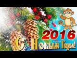 С НОВЫМ ГОДОМ Обезьяны 2016!  СУПЕР КЛИП! самое лучшее поздравление - YouTube