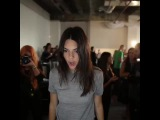 Striking a pose—can you spot Kendall Jenner's tee in our gallery? WatchHungerStop.com #WatchHungerStop