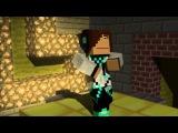 Бендер vs Лололошка  Эпичная Рэп Битва в Майнкрафте (Minecraft Animation)