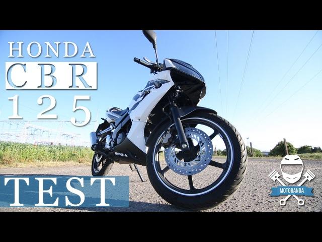 Honda CBR 125R Test - duża uniwersalność w małym opakowaniu - motobanda