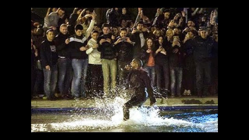 Exclusive Kanye West Just Played A Free Concert In Armenia And Then Jumped Into Swan Lake