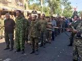 24 августа 2014. Донецк. Пленных Украинских солдат провели в день Парада на «День Независимости» 24/08/14.