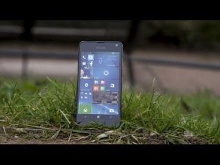 Обзор Microsoft Lumia 650 за одну минуту!