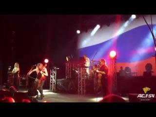 Apocalyptica сыграла гимн России в Новосибирске