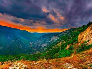 Чернореченский каньон Малый каньон Крыма