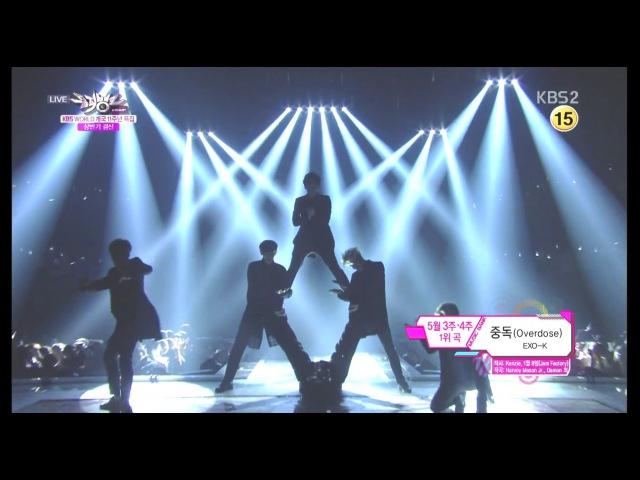 EXO-K_'중독 (Overdose) '_KBS MUSIC BANK_2014.06.27