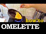 How to make a delicious Omelette / Omelet ( fast and fun recipe )