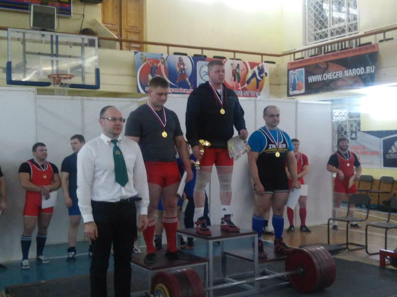 11 медалей разыграли в троеборье череповчане