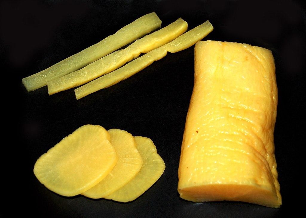Такуан, маринованный дайкон