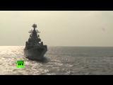 Сирия. Ракетный крейсер Москва в порту Тартус 18.12.2015