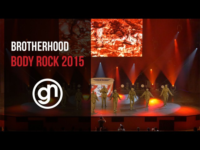 (1st Place) Brotherhood - Body Rock 2015 (Official 4K) @brotherhood_ @geraldnonadoez