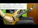 Bon Jovi - Livin' On A Prayer (Bass Cover) (Play Along Tabs In Video)