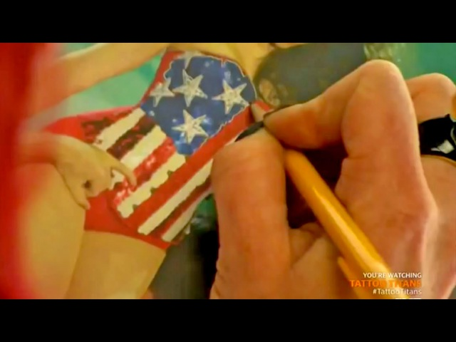Tattooing. Tattoo Battle || Tattoo Titans || Season 1 Episode 3 [3/3]
