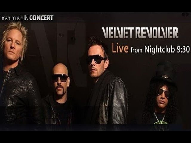 Velvet Revolver - Live From Nightclub (Official DVD Release)