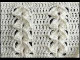 Crochet Punto en Relieve Combinado