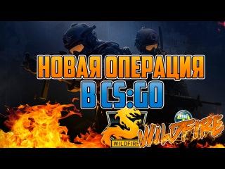 НОВАЯ ОПЕРАЦИЯ В CS:GO WILDFIRE! ОБЗОР