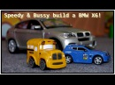 Toy Cars for Kids: Bussy Speedy BMW X6 Bburago Toy Cars Construction Videos for Car Story