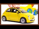 Toy Car Videos Bburago FIAT 500 Construction Bussy Cars for for Kids!