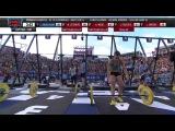 Camille Leblanc-Bazinet - крутая.. 2014 Reebok CrossFit Games - Individual 21-15-9 Complex Women Heat 4