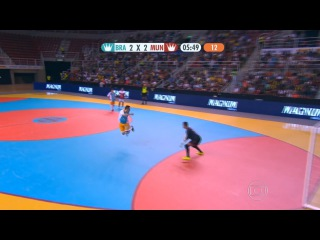Falcao amazing lob goal in Futsal Friendly Game - 20/12/2015
