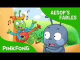 The Ant and the Grasshopper Aesop's Fables PINKFONG Story Time for Children