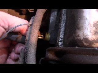 Lada 111 Почему мигает лампа давления масла .Устраняем поломку.Ремонт ВАЗ 21111