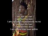 India Arie- I am not my hair (With Lyrics)