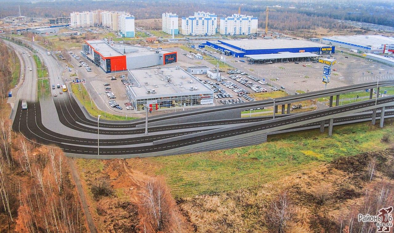 На «финансовую модель» Карабулинской развязки в Ярославле потратят 10,5 млн