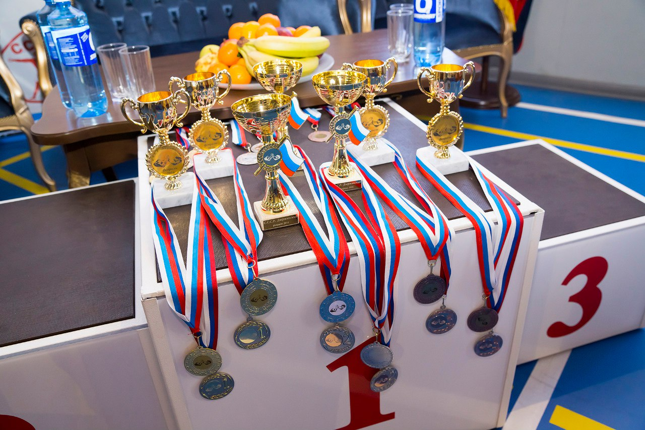 "Medals and Cups for ""CCCP Armwrestling Championships 2016"""