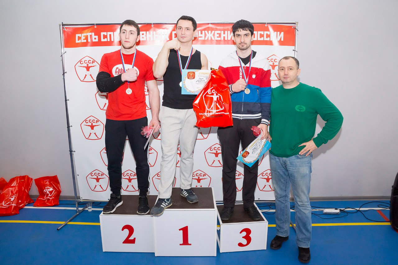 "Winners of the ""CCCP Armwrestling Championships 2016"", Kote Razmadze"