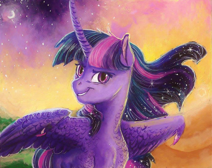 Мои Маленькие Пони Твайлайт Ночное Приключение