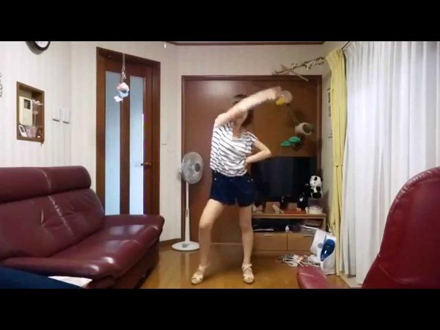 愛川こずえ 夜もすがら君想ふを踊ってみた オリジナル振り付け 12305