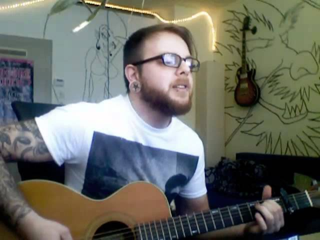 RED - Let it burn Acoustic Cover