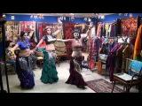 Magenta J Dance Group American Tribal Style (ATS) Trio june 2015