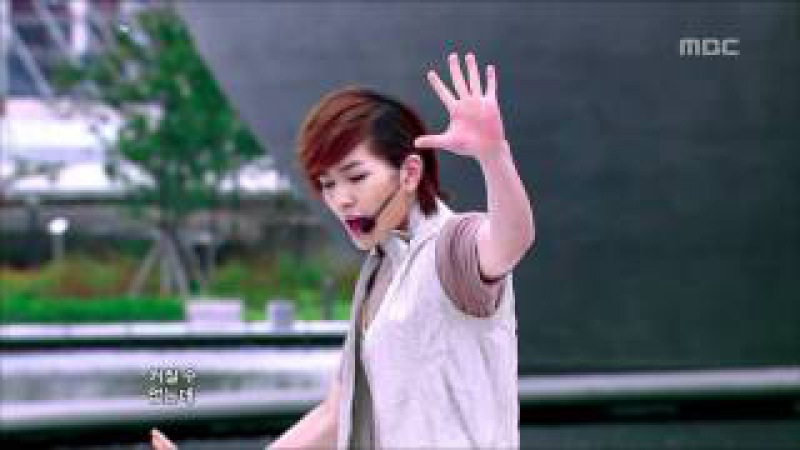 SHINee - Lucifer, 샤이니 - 루시퍼, Music Core 20100911