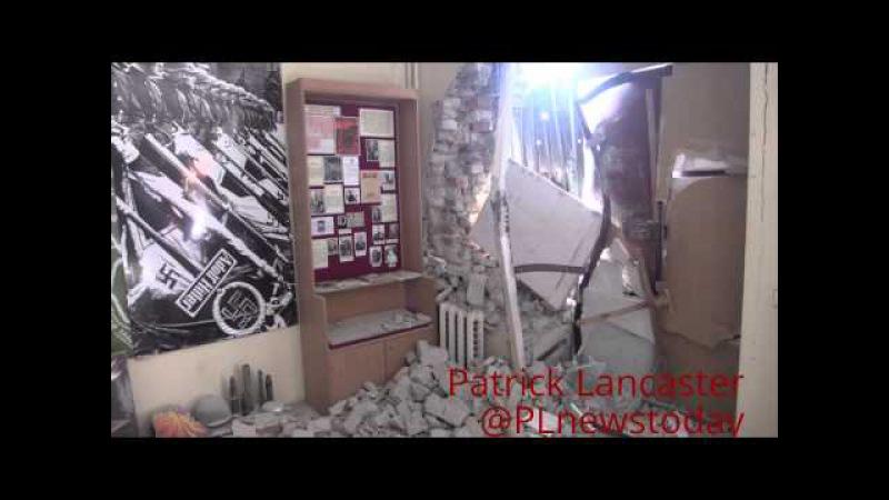 первый раз за последние месяцы центр Донецка обстреляла Украинская армия. 1 человек погиб RUS SUBS