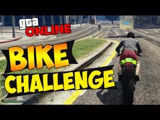 GTA 5 Bike Challenge map - Крутые гонки на байке