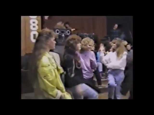 Дискотека 25 мая 1991 Вюнсдорф СШ 1